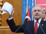 Кылычдароглу в прямом эфире показал банковские счета Эрдогана