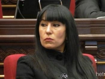 Депутат Наира Зурабян: «Армянские министры могут доказать, что мацони черный»