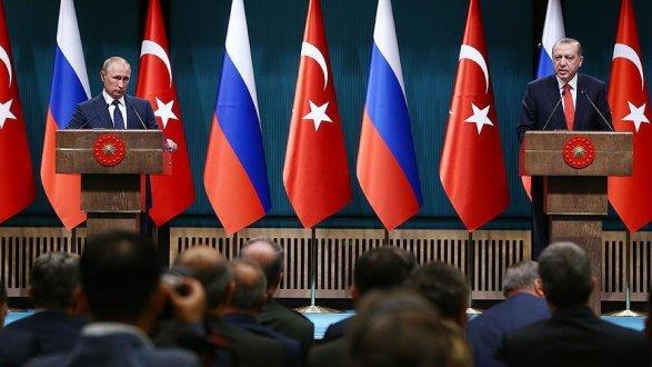 Путин иЭрдоган встретились вАнкаре: результаты переговоров