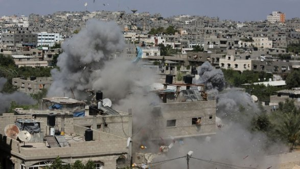 ВВС Израиля атаковали лагерь «Хамас» всекторе Газа
