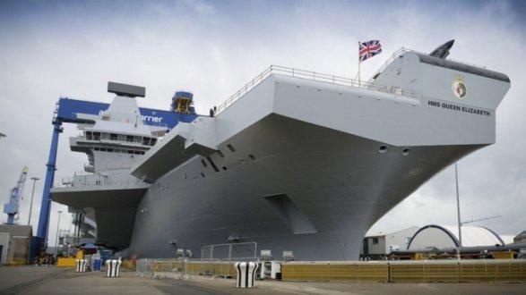 Новый британский флагман уже столкнулся стехническими трудностями