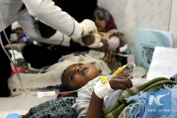 Заразиться могли неменее млн. людей— Холера вЙемене