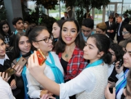 Лейла Алиева организовала праздник для детей