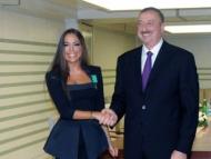 Лейла Алиева поздравила президента