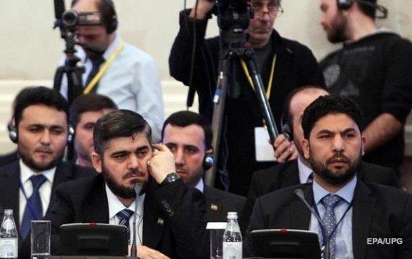 Уполномоченные сирийской оппозиции отказались участвовать в съезде вСочи
