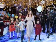 Первый вице-президент Мехрибан Алиева устроила праздник для детей