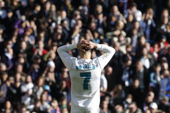 Роналду признан лучшим спортсменом Европы в2017 году