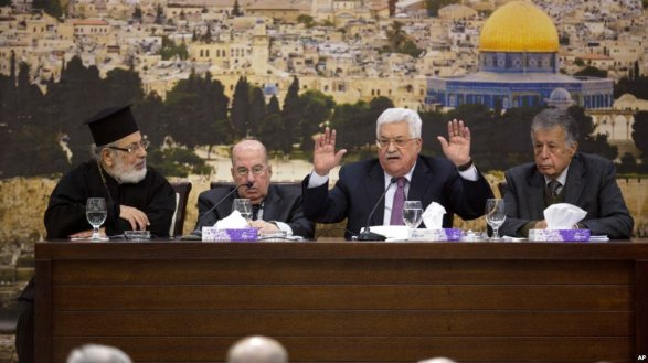Руководство Палестины призывает заморозить признание Израиля как государства