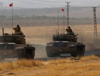 Турецкие войска готовятся войти в Африн