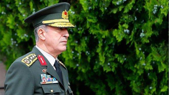 Руководитель ГенштабаВС Турции отбыл в РФ