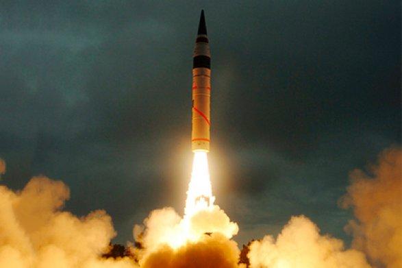 ВИндии провели тестирования ракеты «Агни-5», способной нести ядерный заряд