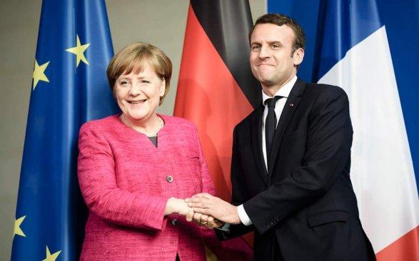 Берлин иПариж в 2018г. разработают новый Елисейский договор