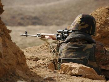 Армяне обстреляли село в Газахе