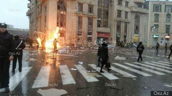 Картинки по запросу Взрыв в центре Баку: есть погибшие