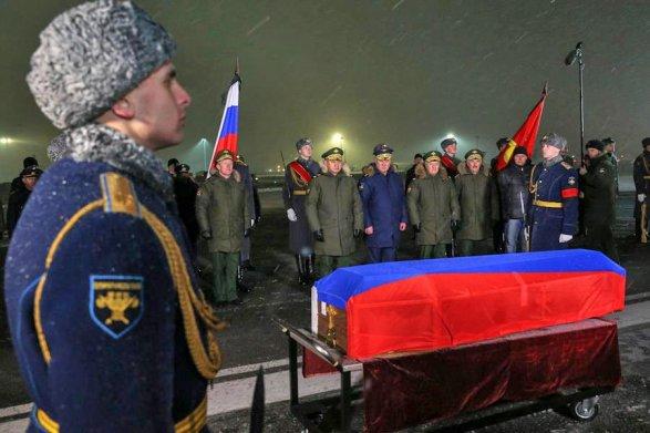 Тело пилота Филипова удалось вернуть в РФ