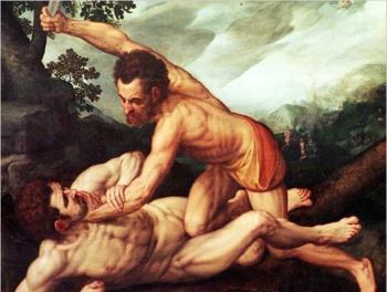Каин убил Авеля в Баку