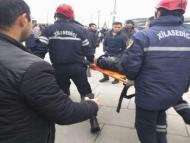 Застрявший в дымохододе бакинец оказался грабителем