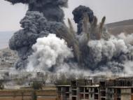Русские распространили видео бомбежки американцев в Cирии