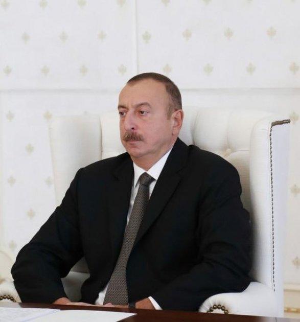 Президент Азербайджана поздравил В.Путина спобедой