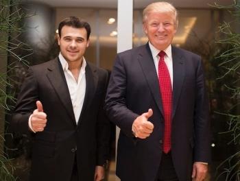 Эмин Агаларов принес Трампу письмо от Путина
