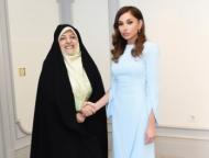 Заместитель Роухани на переговорах с Мехрибан Алиевой