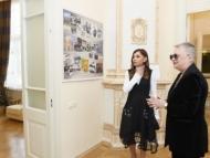 Мехрибан Алиева на открытии Центра творчества Максуда Ибрагимбекова