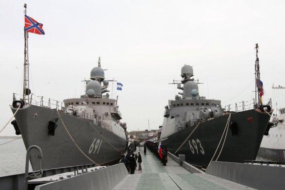 Шойгу объявил опереводе Каспийской флотилии изАстрахани вДагестан