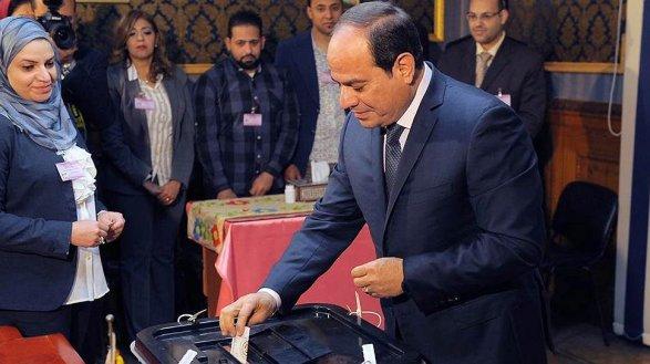 Путин ипрезидент Египта обсудили ситуацию вСирии