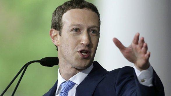 Фейсбук удалил отправленные сообщения Цукерберга