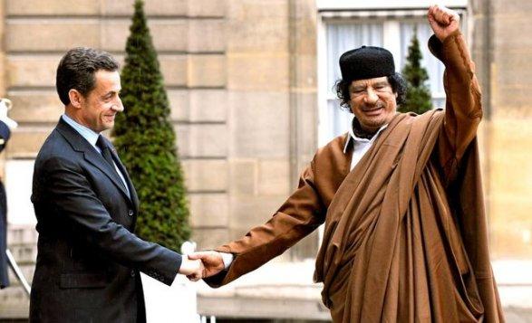 Стали известны детали снобжения деньгами Каддафи кампании Саркози
