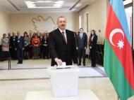 Ильхам Алиев проголосовал на выборах