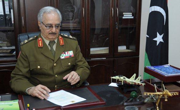 ВЛивии опровергли сообщения осмерти маршала Хафтара