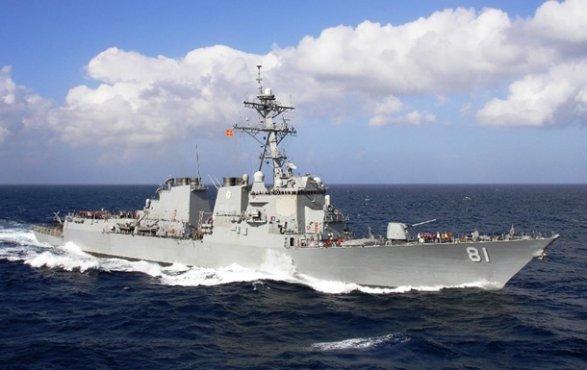 Эсминец «Уинстон Черчилль» присоединился кгруппировке ВМС США вСредиземном море
