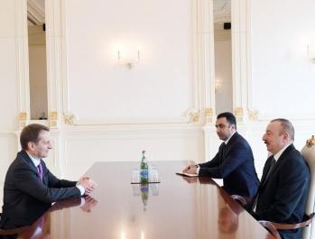Глава внешней разведки России на переговорах у Ильхама Алиева