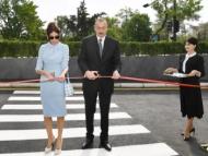Ильхам Алиев открыл образовательный комплекс в Баку
