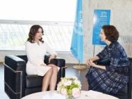 Мехрибан Алиева встретилась с гендиректором ЮНЕСКО