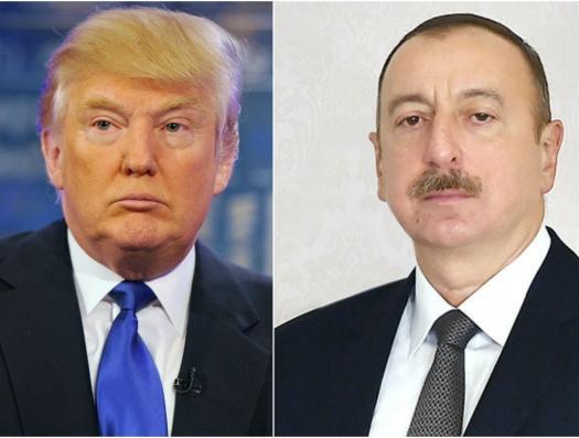 Трамп Алиеву: «Появятся новые возможности для решения Карабаха»
