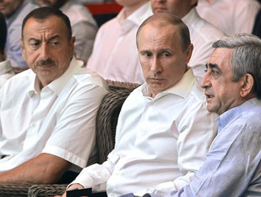 Азербайджан с Москвой, а Ереван за океан