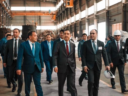 Металлургия Мамедова дошла и до Казахстана