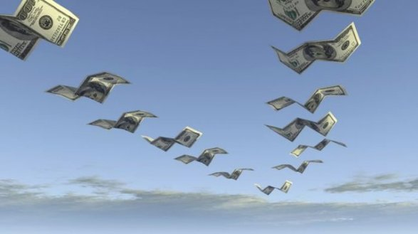 Чистый отток капитала из Российской Федерации увеличился на23,9%