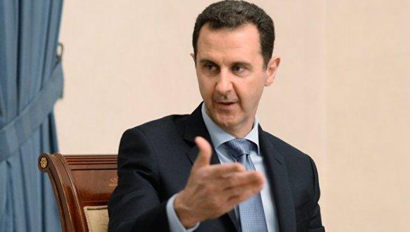 Асад поведал овмешательстве Российской Федерации вовнутренние дела Сирии