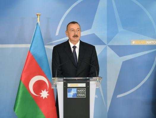 Ильхам Алиев встретится в Брюсселе с руководством НАТО и Евросоюза