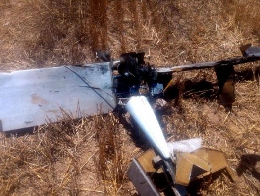 На фронте сбит армянский беспилотник