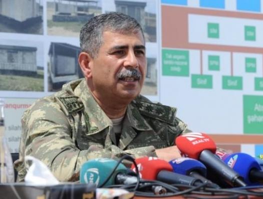 Министр обороны Азербайджана: «Приказ о наступлении будет принят с учетом международной обстановки»