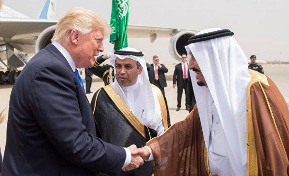Трамп проинформировал , что Саудовская Аравия дала согласие  наего просьбу подобыче нефти