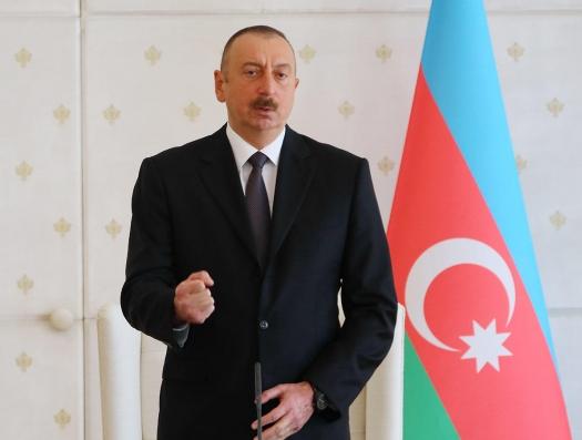Ильхам Алиев: Я помог свержению Саргсяна