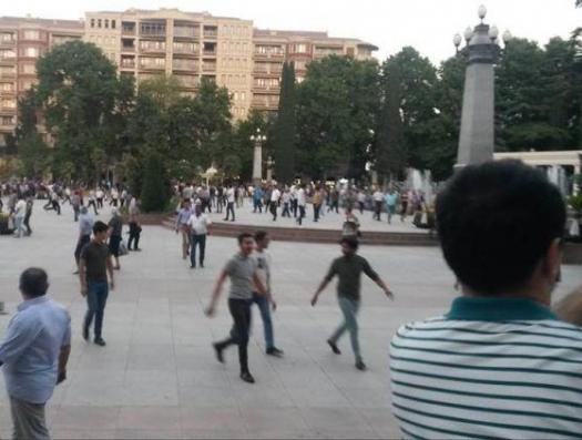 В Гяндже арестовали еще семь человек