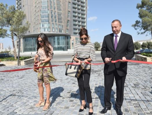 Загубили парк, созданный Алиевыми