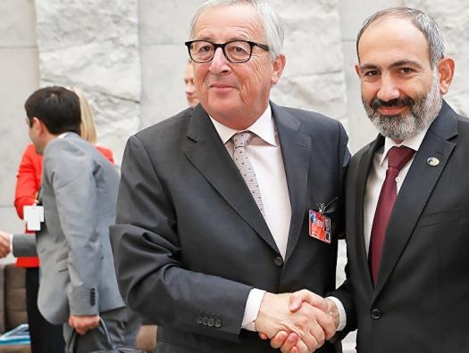Пашинян пригласил главу Еврокомиссии на шашлыки