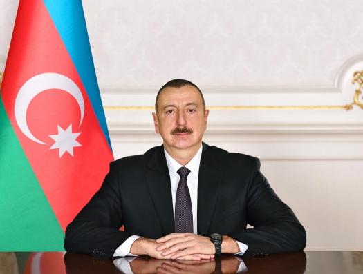 Ильхам Алиев поздравил президента Египта